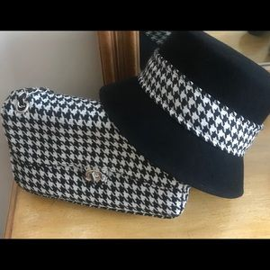 8a464d52d62 Accessories - Give em Hell in Houndstooth! Purse   Hat